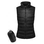 Yidarton Women Down Vest Packable Lightweight Outerwear Coat Jacket Puffer Vests