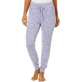 Cool Girl Womens Sapce Dye Terry Jogger Pajama Pants