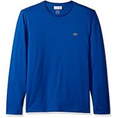 Lacoste Men's Long Sleeve Pima Jersey Crewneck T-Shirt