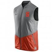 NIKE Syracuse Orange Hyperelite Full-Zip On-Court Game Vest (Large)