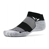 Swiftwick- MAXUS ONE | Socks Built for Running  Golf | Plush Cushion, ALL DAY Comfort Ankle Socks