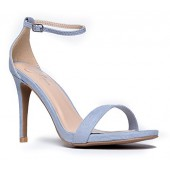 5038f574c2 J. Adams Ankle Strap High Heel Sandal - Strappy Buckle Shoe -Dress Wedding  Party