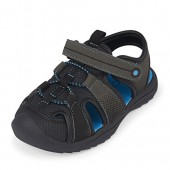 The Children's Place Kids' E TB Grizzly Flat Sandal