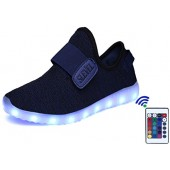 SLEVEL Breathable LED Light Up Shoes Flashing Sneakers For Kids Boys Girls