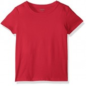 Gymboree Baby Toddler Girls' Short Sleeve Basic Solid Tee
