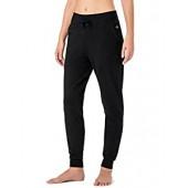 NAVISKIN Women's Yoga Running Pants Outdoor Lounge Sweat Pants Side Pockets