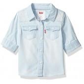 Levi's Baby Girls' Western 42798 Sleeve Denim Shirt