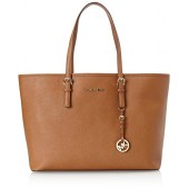 Michael Kors Medium Jet Set Multifunction Saffiano Travel Tote