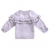 YOHA Baby Girls Spring Ruffle Top Blouse Shirt Long Sleeve Toddler Casual Tops
