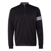 adidas Men's Golf Climalite 3-Stripe French Terry 1/4 Zip Pullover