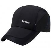 Panegy Men Women Sports Hat Quick Drying Mesh Sun Cap Lightweight Sun Runner Cap