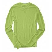 Aeropostale Mens Long Sleeve Solid Thermal Shirt