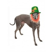 Rubies Costume Company St. Pattys Day Pet Costume Hat with Beard