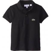 Lacoste Boys' Short Sleeve Classic Cotton Pique Polo Shirt