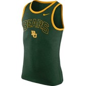 NIKE Baylor Bears Men's College Cotton Arch Tank Top Sleeveless Shirt