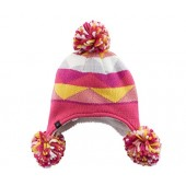 Girls 7-14 Cuddl Duds Geometric Tribal Hat, Girl's, Multicolor