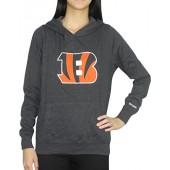Pink Victoria's Secret Womens CINCINNATI BENGALS Athletic Pullover Hoodie