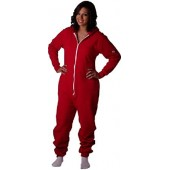 CoZone USA Hooded Jumpsuit Adult Onesie