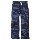 Carter's Baby Boys' French Terry Pants (9 Months, Blue Camo)