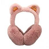ManxiVoo Women Girls Holiday Winter Outdoor Sports Cute Cartoon Cat Ear Warmers Headband Earmuffs
