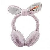 Women Girls Winter Warm Cute Rabbit Plush Earmuffs Warmers Earwarmers Cute Faux Fur Fluffy Adjustable Foldable