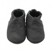 Sayoyo Baby Soft Sole Prewalkers Baby Toddler Shoes Cattle Cashmere Shoes Dark Grey