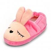 Enteer Toddler Girls' Long Ears Bunny Slipper