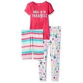 Carter's Girls' 3-Piece Cotton Pajamas