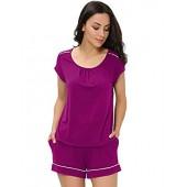 GYS Women's Scoop Neck Short Pajamas