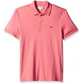 Lacoste Men's Short Sleeve Pima Jersey Polo Interlock Reg