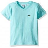 Lacoste Boys' Short Sleeve V-Neck T-Shirt