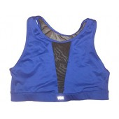 Victoria's Secret Body-Wick High Neck Front/Back Mesh Sport Bra