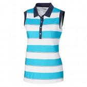 Cutter  Buck Women's Moisture Wicking Drytec UPF 50+ Sleeveless Jersey Polo Shirt
