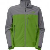 The North Face Apex Bionic Softshell Jacket - Men's Adder Green/Sedona Sage Grey, XL