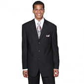Fortino Landi Men's 3 Button Single Breasted Dress Suit , 14 Colors. 8022