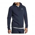 Nike Men's Air Jordan Jumpman Full-Zip Fleece Basketball Hoodie
