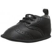 Little Me Pebbled WingTip Shoe Dress Shoe (Infant)