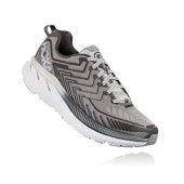 Hoka One One Men's Clifton 4 Wide Running Shoe, Griffin/Microchip, 9 EE