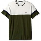 Lacoste Men's S/S Colorblock Jersey T-Shirt