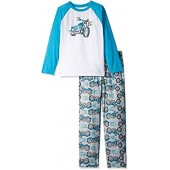 Gymboree Boys' Big Raglan Pajama Set
