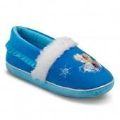 Toddler Girl's Disney Frozen Elsa & Anna Cozy Slide Slippers