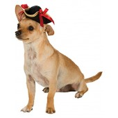 Rubies Costume Company Pirate Girl Hat Pet Costume Accessory