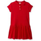 Gymboree Big Girls' Short Sleeve Uniform Polo Dress