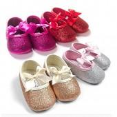 Royal Victory RVROVIC Baby Girl Moccasins Princess Sparkly Premium Lightweight Soft Sole Prewalker Toddler Shoes