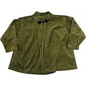 Mulberribush - Little Girls' Long Sleeve Velour Swing Jacket