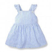 Hope & Henry Girls Apron Top Made With Organic Cotton