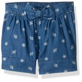 Gymboree Baby Toddler Girls' Chambray Short With Bumble Bee