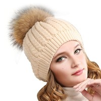 cf4793dd43cfbe Womens Winter Pom Pom Hat - Super Soft Angora Wool Knit Beanie Fur Ball Hats  For Women Girls FURTALK Original. 판매가: 46,800원 24,700원 · 브랜드 ...