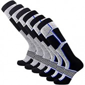Pure Athlete Snowboard Socks - Comfortable Warm Skiing Snowboarding Sock for Men and Women