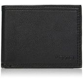 Levis Mens Rfid Blocking Extra Capacity Leather Slimfold Wallet